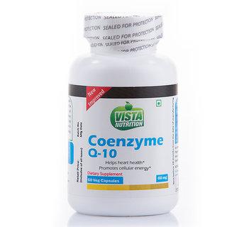 Vista Nutrition CoQ10 60mg - 60 capsules