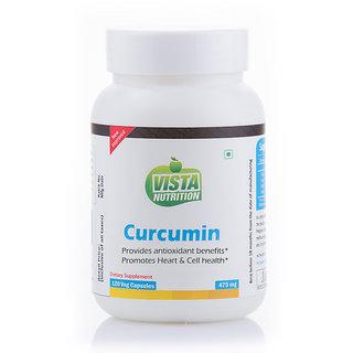 Vista Nutrition Curcumin 475mg -- 120 Capsules