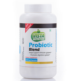 Vista Nutrition Probiotic Blend -240 Capsules