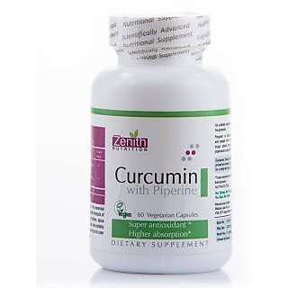 Zenith Nutrition Curcumin With Piperine  60 Capsules