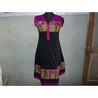 printed cotton ladies kurti
