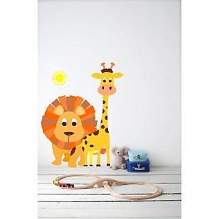 Jungle Safari Wall Sticker JS001M (Multicolor)