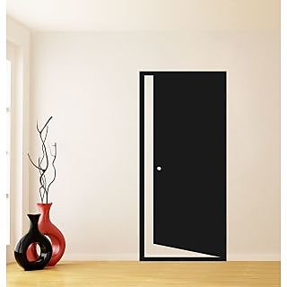 Secret Door Wall Sticker SD001S (Black)