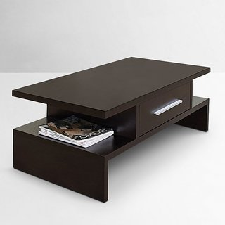 Designer Coffee Table with Drawer