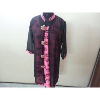 Masaba top with black kurta