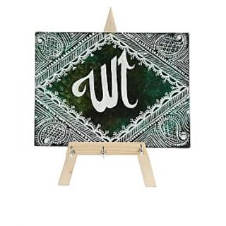 Hand-painted Keychain Holders - Mystic Allah Theme - Multicolor - By Rang Rage