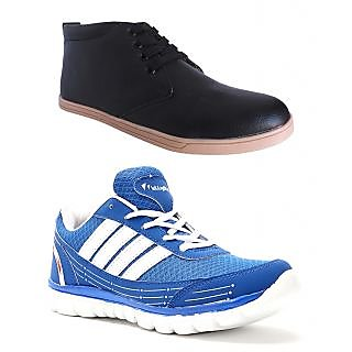 Elligator Mens Multicolor Lace-up Running Shoes