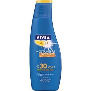 Nivea Sun Moisturising Immediate Sun Protection - SPF 30 PA++(75 ml)