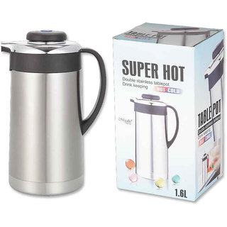 MegaLite Premium Stainless Steel Tea/Coffee Pot 1600ml BES 168