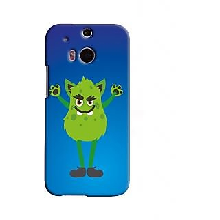 Fanciful Snooky Back Cover Cases for HTC ONE M8 Blue 22250