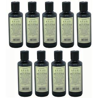 Hair Shampoo - Herbal - Amla Bhringraj Shampoo - Combo Pack of 9 - By Khadi