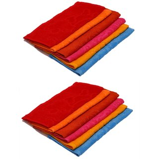 Z Decor Set of 10 Face towels