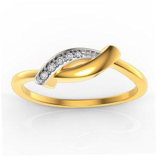 Band Gold & Diamond Ring