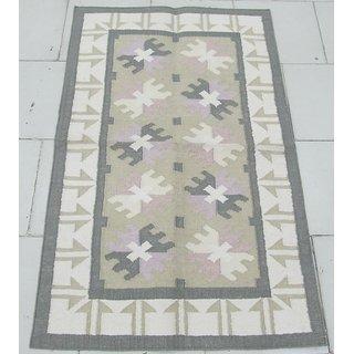 Carpet Overseas Cotton Flat Weave Kilim Design Carpet