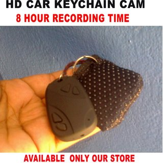 8 Hour Battery Backup HD Car Key Chain With Mini Purse Camera / Web Cam  Spy Camera
