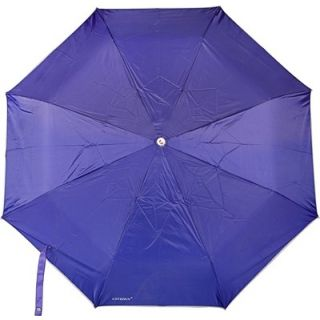 Dizionario Plain 3 Fold Umbrella Blue