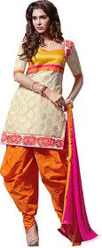 Pretty Multicolor Patiala Salwar Kameez