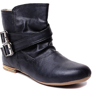 Steppings Black Others Boots