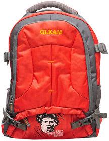 Gleam Orange Laptop Backpack and School Bag