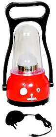 12 LED New Moon Red rechargeable emergency light with charger