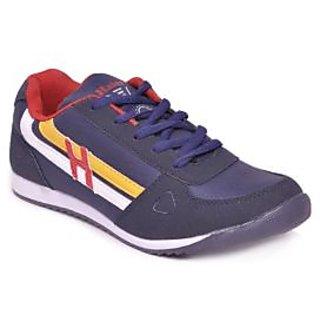 Haier Hunter Navy Blue & Red Running Shoes