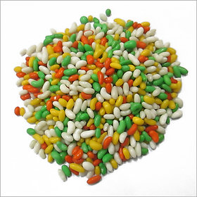 Premium Quality Colorful Sugar Coated Saunf Mouth Freshener - 100 Grams !!!