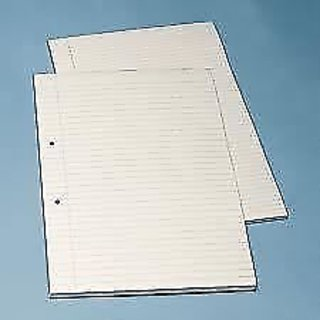 BEST QUALITY PUNCHED/HOLE SINGLE LINE PAGE - 100 Pages