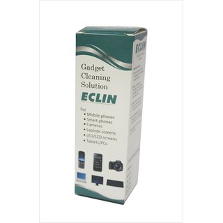 ECLIN Gadget Cleaning Solution for Smart Phones, Tablets, Laptops, 100ml