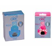 Aer Click Refill - Cool Surf Blue + Petal Crush Pink