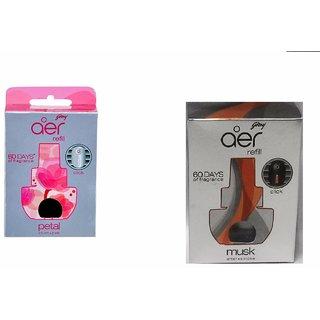 aer Click Refill - Petal Crush Pink + Musk After Smoke