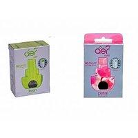 Aer Click Refill - Petal Crush Pink + Fresh Lush Green