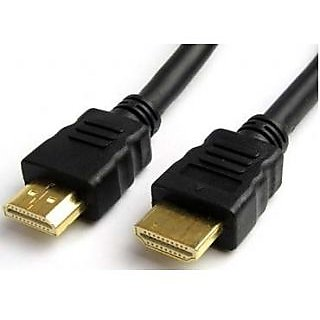 Gold HDMI v1.4 Male to Male Cable 5 Meters LCD Plasma DVD TV PS3 Blueray Full HD