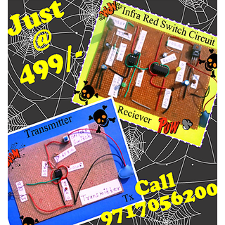 Infrared Switch Circuit (Transmitter & Receiver) Just at Rs. 499 only