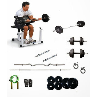 Protoner Weight Lifting Package 40 Kgs + 5