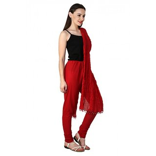 PISTAAS RED Bottom With Dupatta