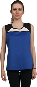 ZINC WOMEN'S SLEEVELESS RACETRACK TANK TOP
