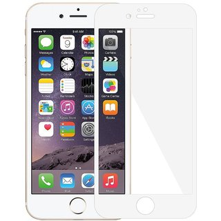 Tempered Glass HD Edge2Edge White Screen Protector for iPhone 6