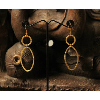 Classic 24 K Gold Plated Earrings Design 1