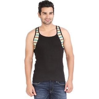 Zippy Rapid BLACK  Sleeveles Men's Vest
