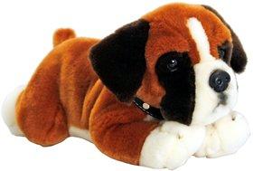 Tickles Brown Pug Dog Stuffed Soft Plush Toy Kids