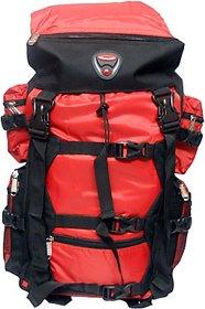Donex 40-50 L Black & Red Polyester Rucksacks