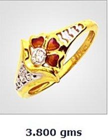 Sambhav Women's Ring (Yellow) SRG3633