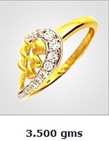 Sambhav Women's Ring (Yellow) SRG3634