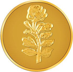 RSBL Ecoins 0.1 grams 24k 995 Yellow Gold Precious Coin