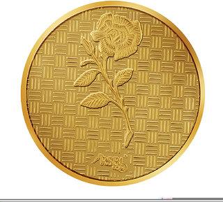 RSBL Ecoins 0.5 grams 24k 995 Yellow Gold Precious Coin