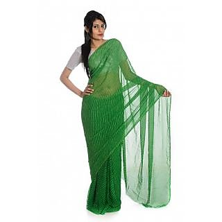 Rajasthani Green Color Contrast Mothara