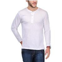 Tsx Men's White Round Neck T-Shirt