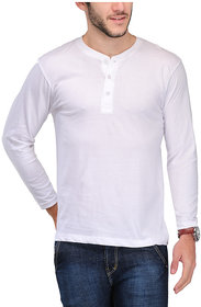 Tsx Men's White Round Neck T-Shirt