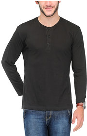 Tsx Men's Red Round Neck T-Shirt