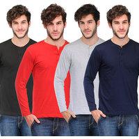 TSX Men's Multicolor Round Neck T-shirts